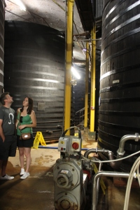 Oak Vats at Westons