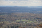 View of the Hudson Valley from the top of the Gunks