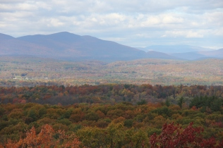 View of the Catskills from the top of the Gunks